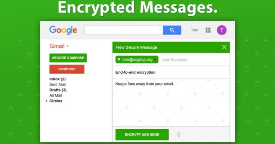 flowkrypt google chrome extensión seguridad